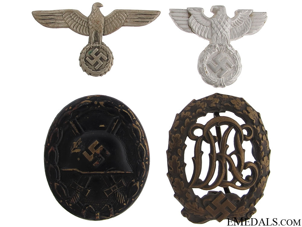 eMedals-Four WWII German Items