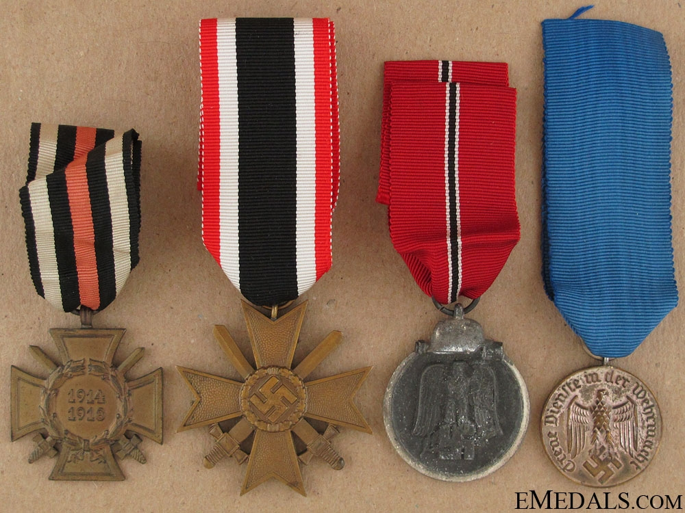 eMedals-Four WWII German Awards