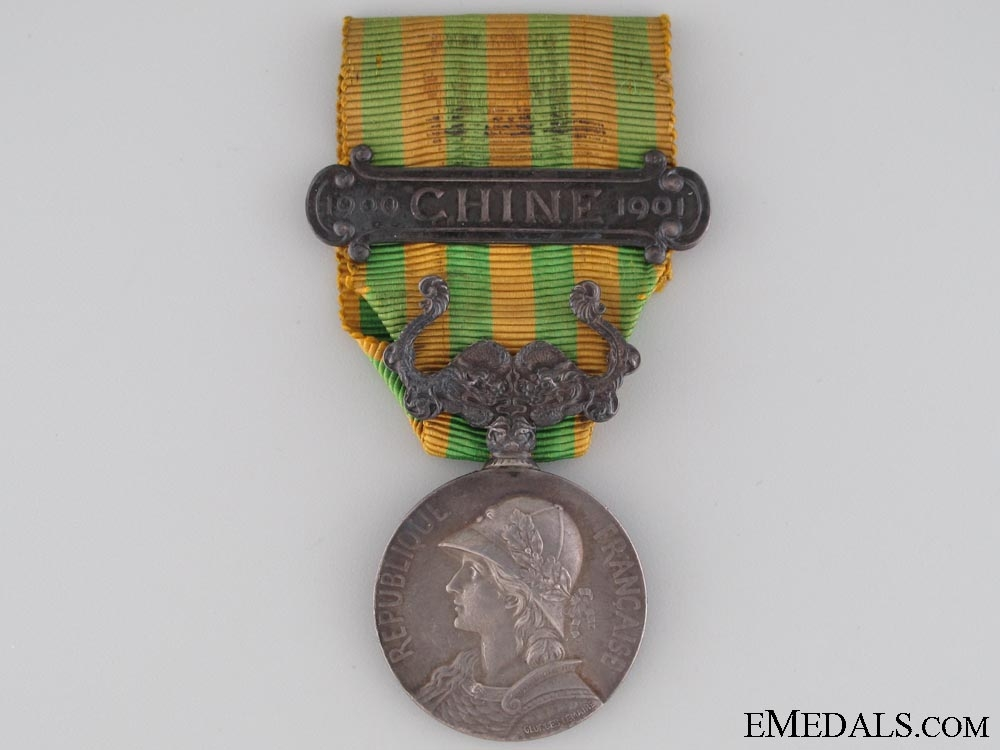 eMedals-France. China Medal 1900-1901