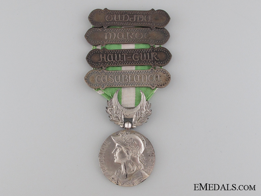 eMedals-French Morocco Medal