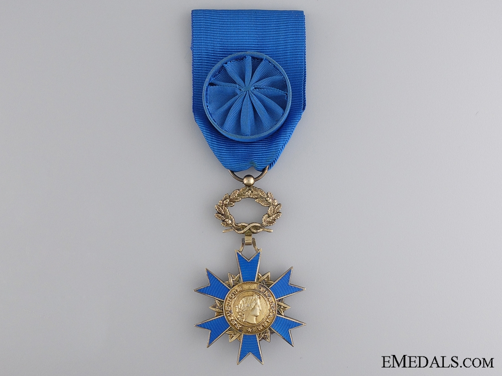 eMedals-French National Order of Merit; Officer