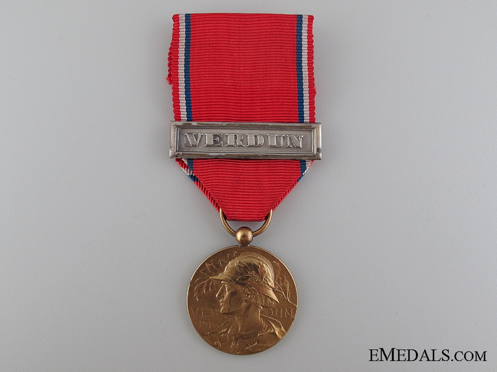 eMedals-French Verdun Medal, Type I
