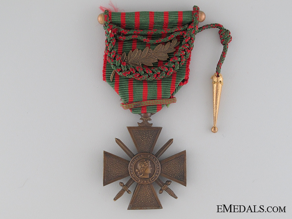eMedals-French War Cross 1914-1918