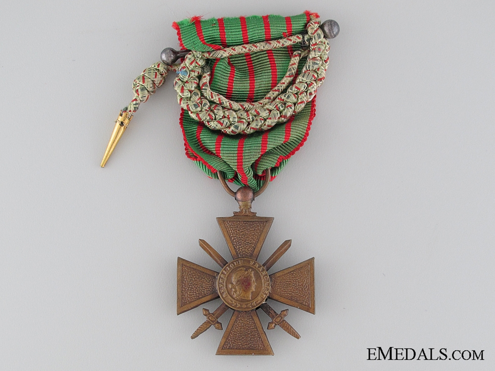 eMedals-French War Cross 1914-1918