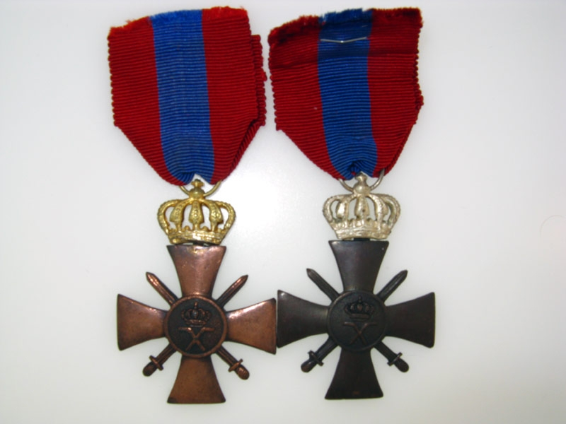 eMedals-Two War Crosses 1940