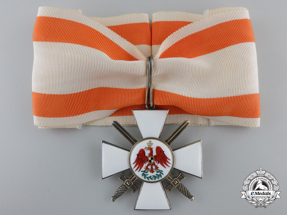 eMedals-A Prussian Order of the Red Eagle; Second Class with Swords by Godet