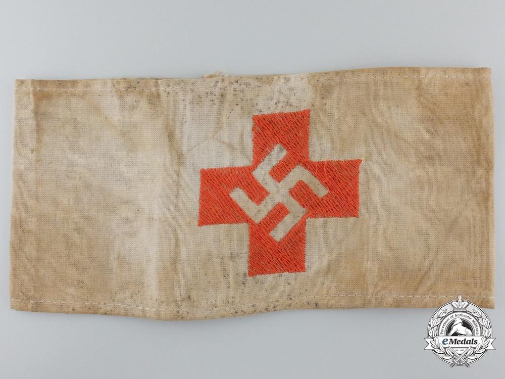 eMedals-A Rare NSDAP/SA German Red Cross Armband, c. 1930s