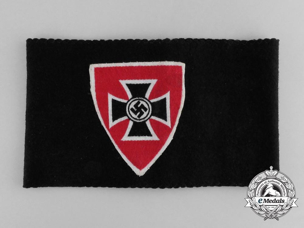 eMedals-A National Socialist Veterans Organization Membership Armband