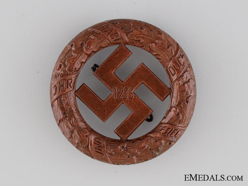 eMedals-Gau- München Badge 1933