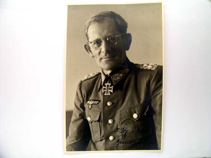 eMedals-ORIGINAL SIGNED PHOTO, VON WEICHS
