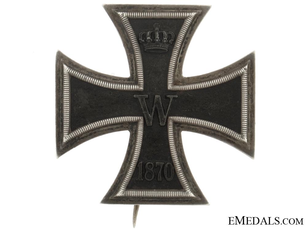 eMedals-Iron cross 1870 First Class  Wagner
