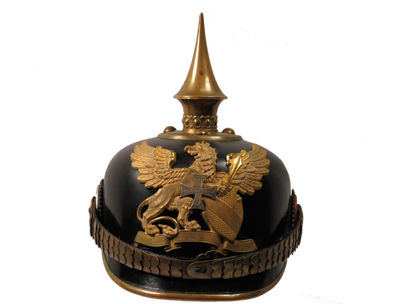 eMedals-Germany (Hessen)-Officer's Infantry Pickelhaube