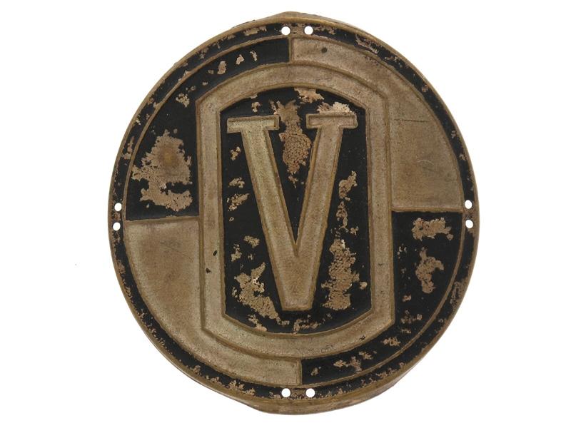 """eMedals-Freekorps """"V"""" Badge"""