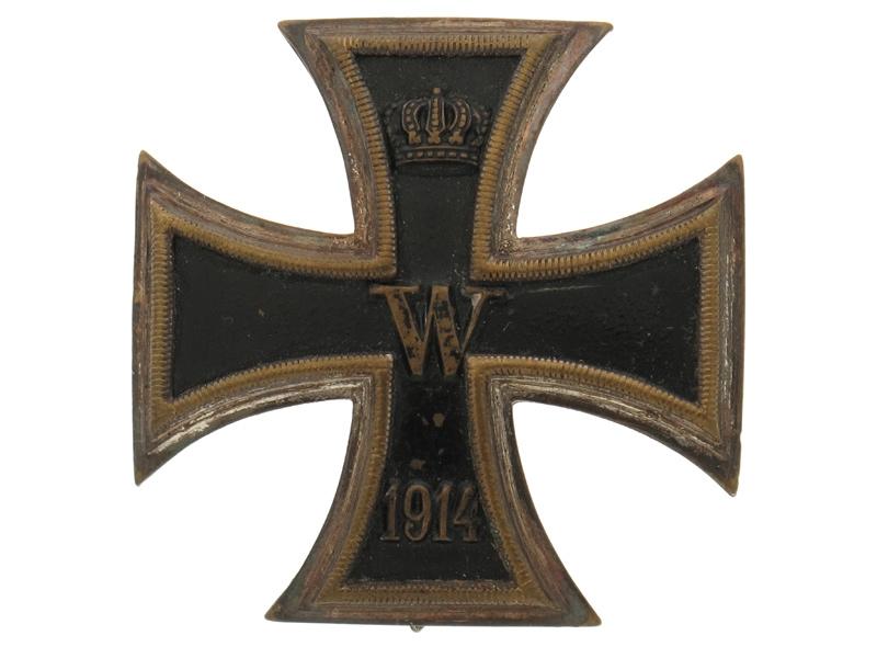 eMedals-Iron Cross First Class, 1914