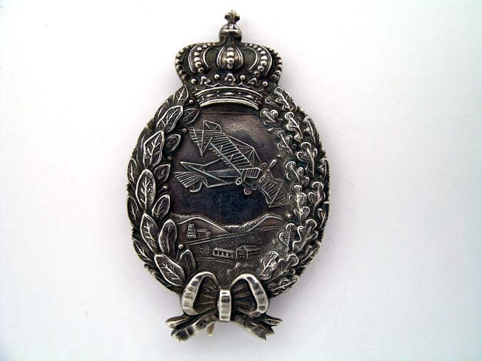eMedals-Bavarian Pilot's Badge WWI