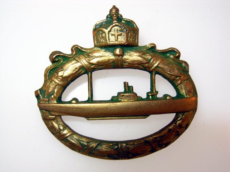 eMedals-U-Boot Badge, WWI