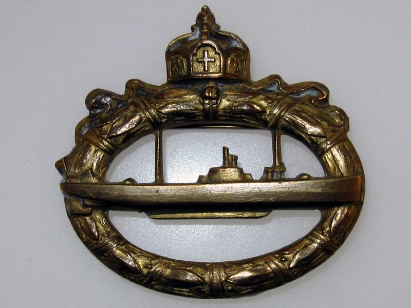 eMedals-U-Boot Badge WWI
