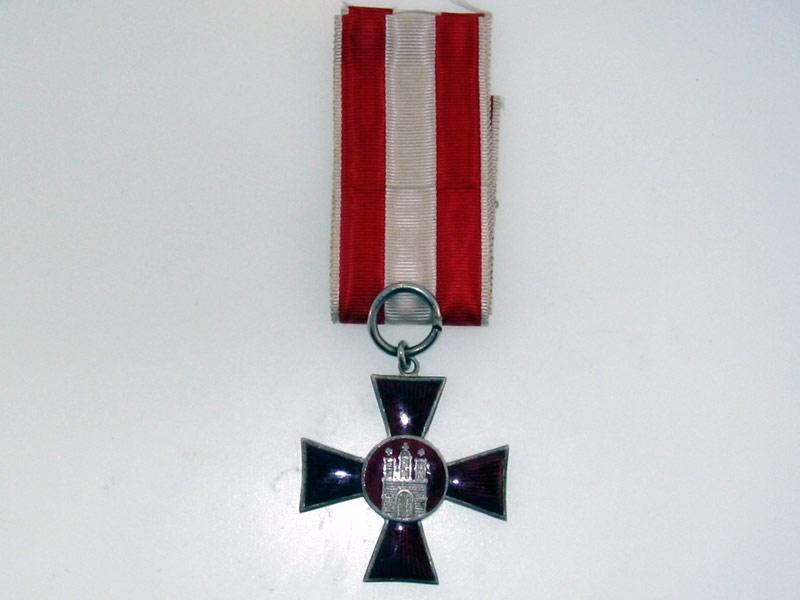 eMedals-Hamburg Hanseatic Cross 1914