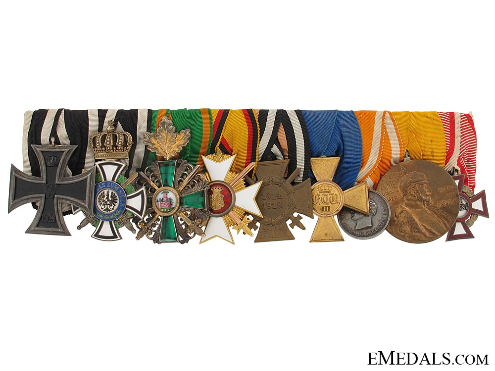 eMedals-Fine Medal Bar with Nine Awards