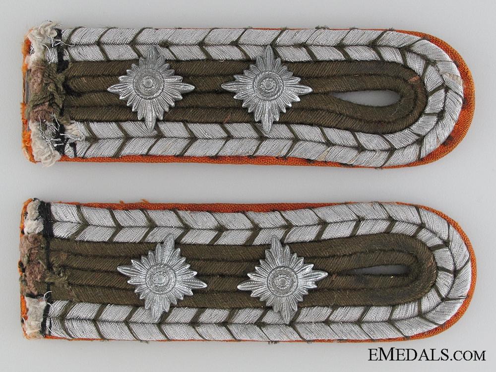 eMedals-Gendarmerie Hauptwachtmeister Shoulder Boards
