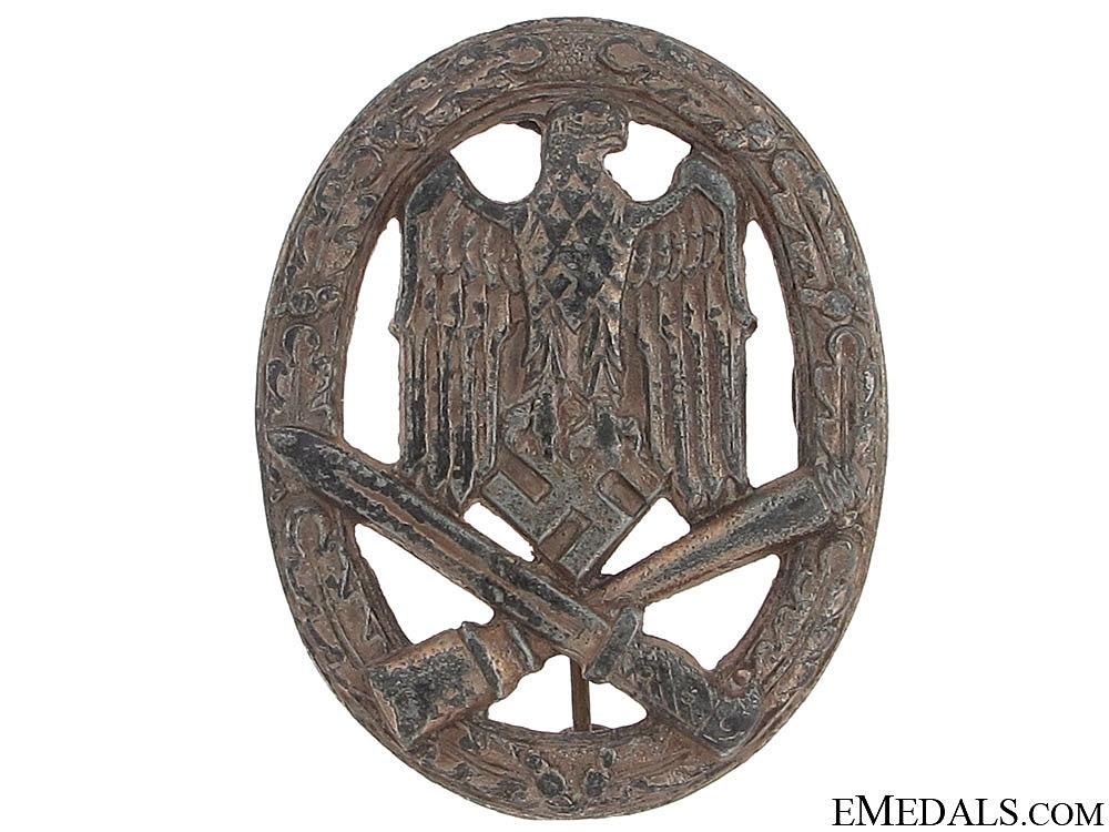 eMedals-General Assault Badge