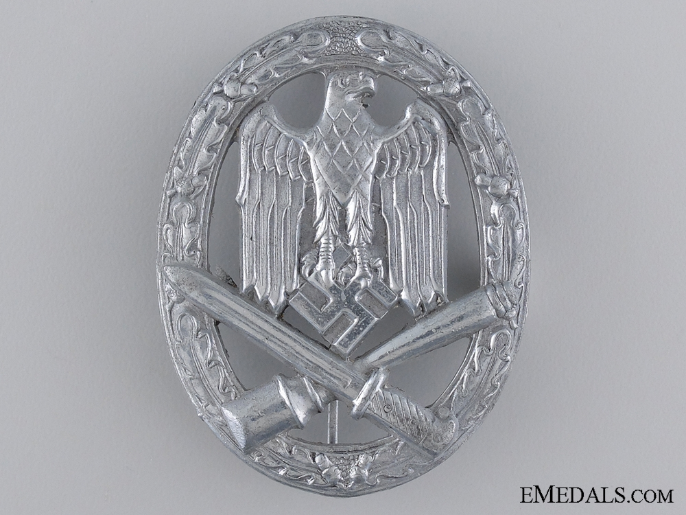 eMedals-General Assault Badge; Unmarked