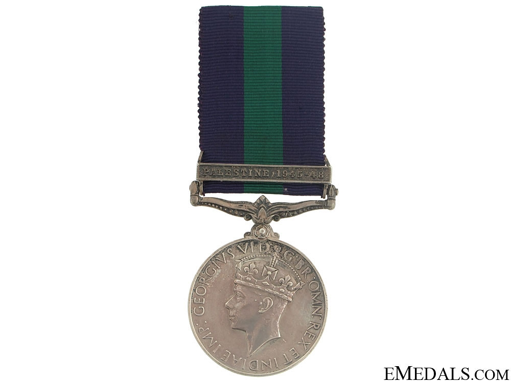 eMedals-General Service Medal 1918-1962 - Palestine