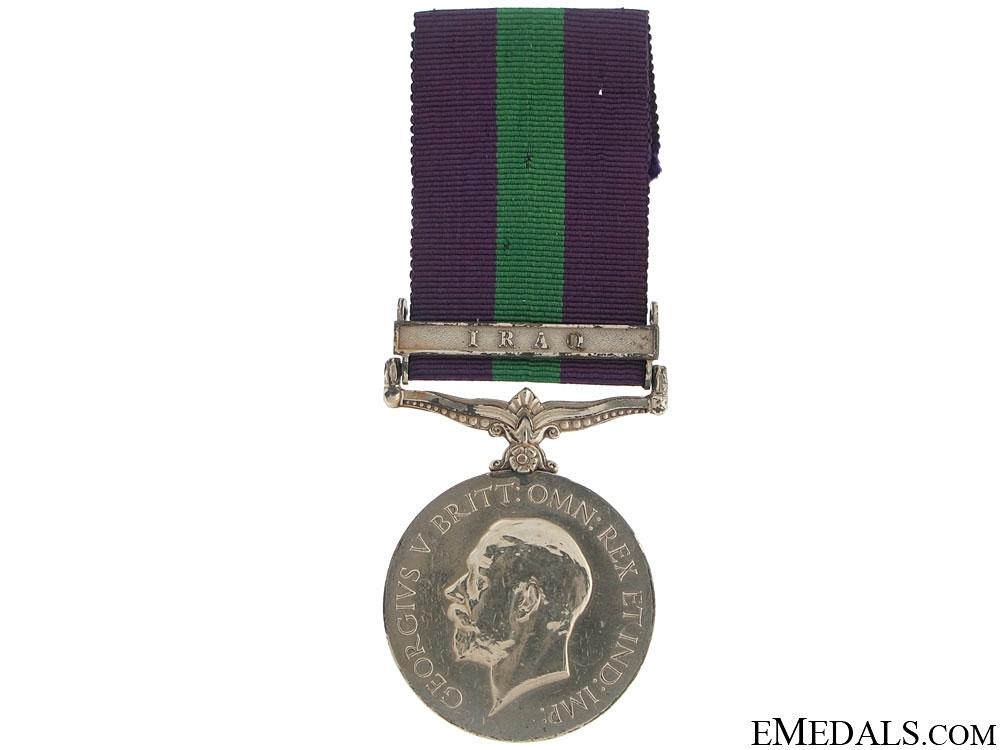 eMedals-General Service Medal 1918-62 - Iraq