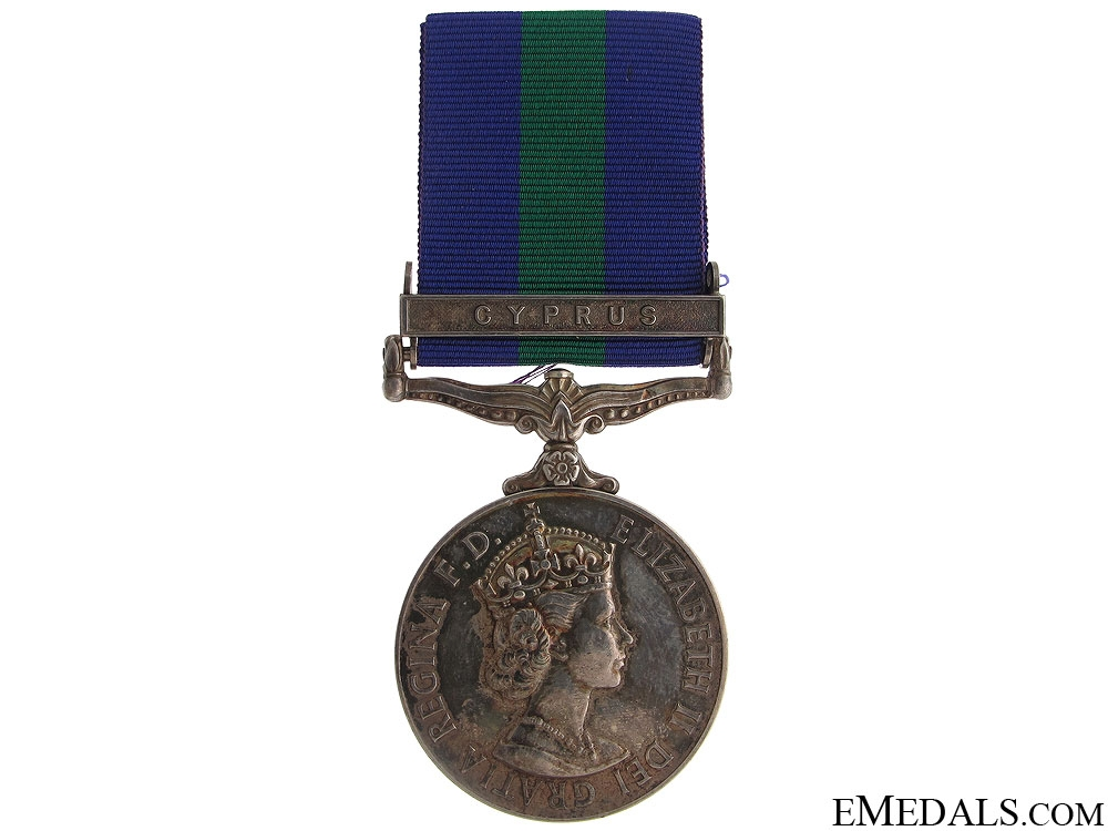 eMedals-General Service Medal - Cyprus