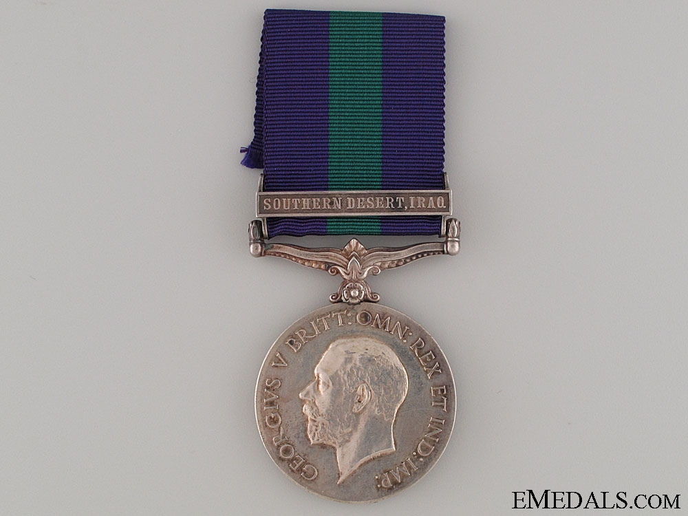 eMedals-General Service Medal 1918-1962 - SOUTHERN DESERT