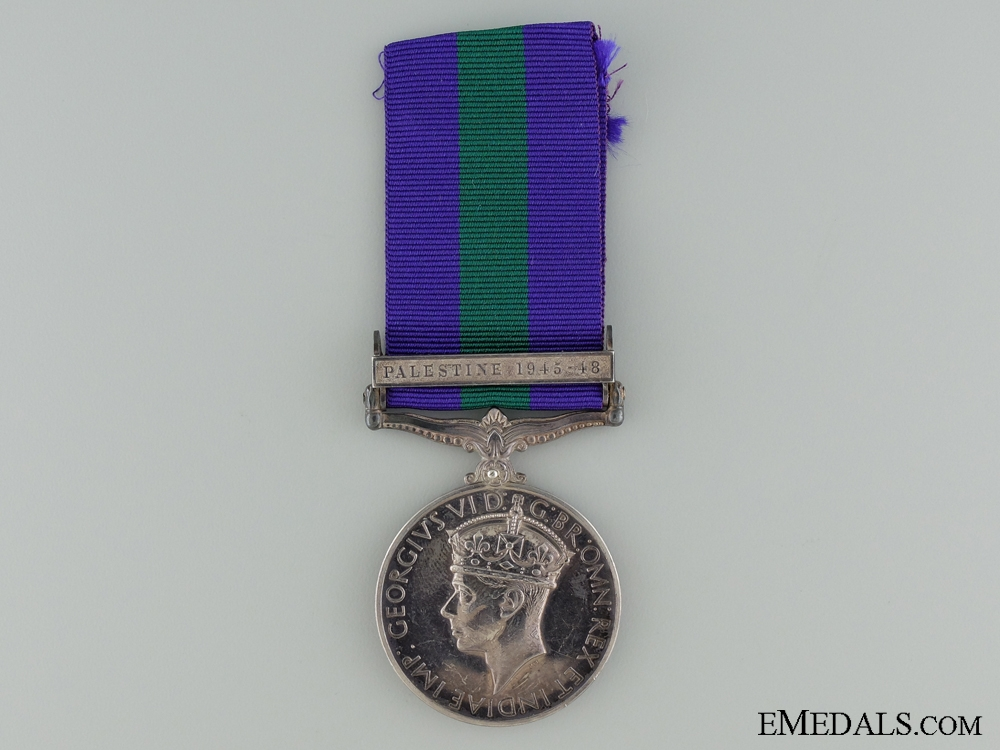 eMedals-General Service Medal 1918-1962 to the African Pioneer Corps