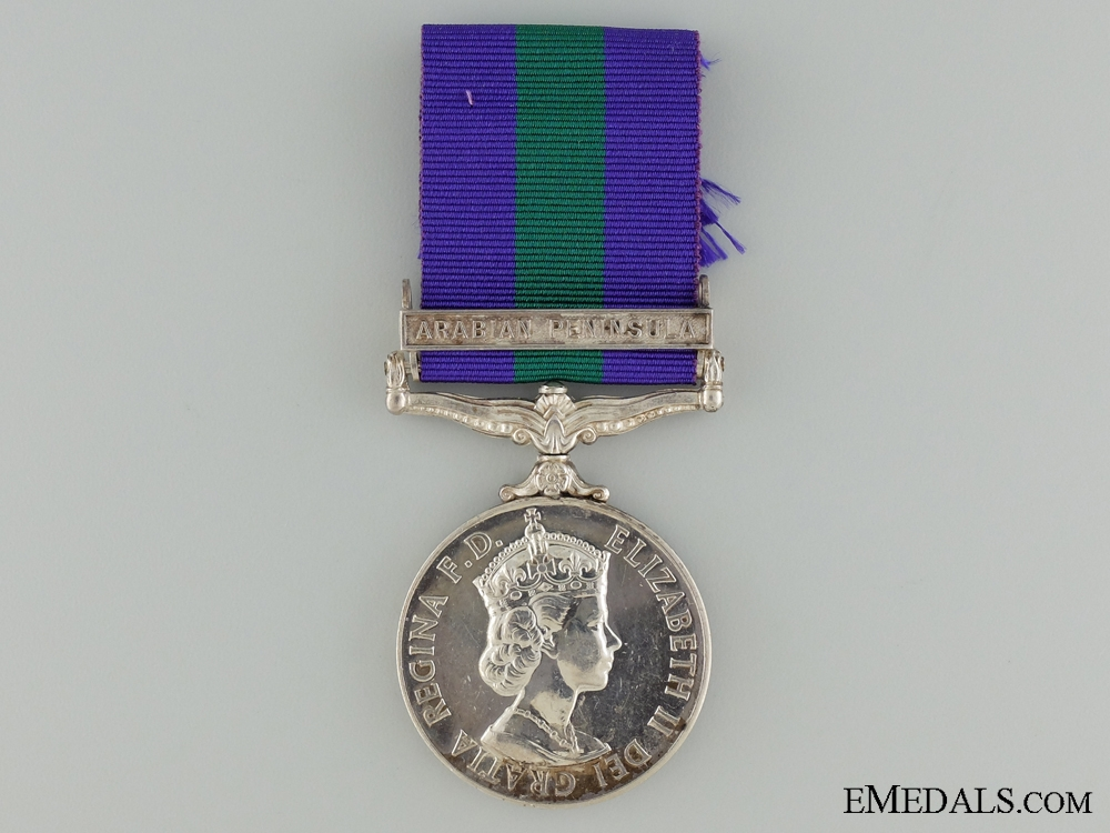 eMedals-General Service Medal 1918-1962 to the Royal Air Force