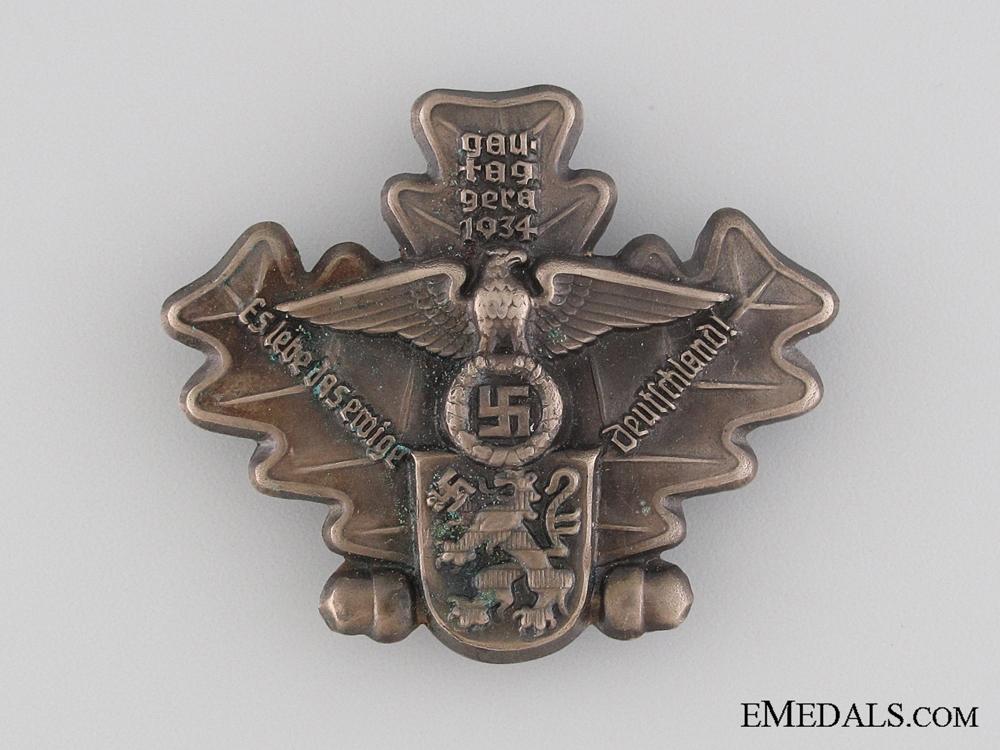 eMedals-Gera Gau Veteran's Day Tinnie, 1934