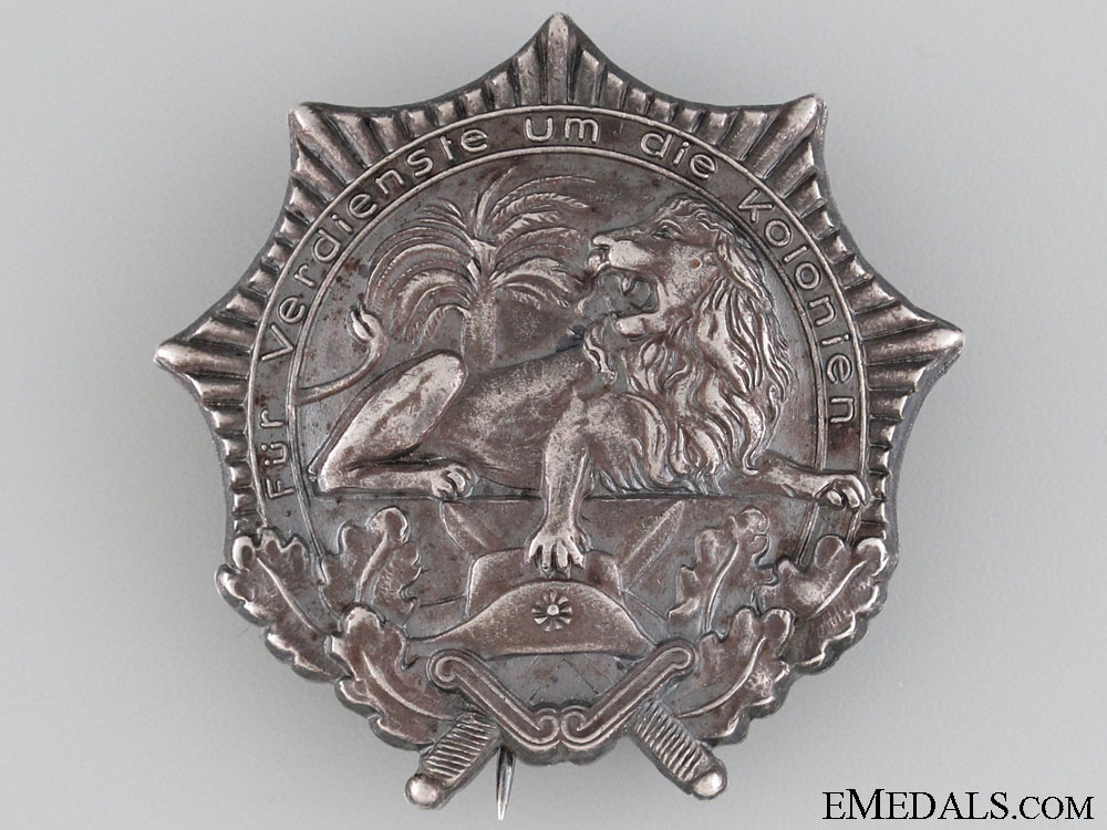 eMedals-German Colonial Veteran Organization Badge