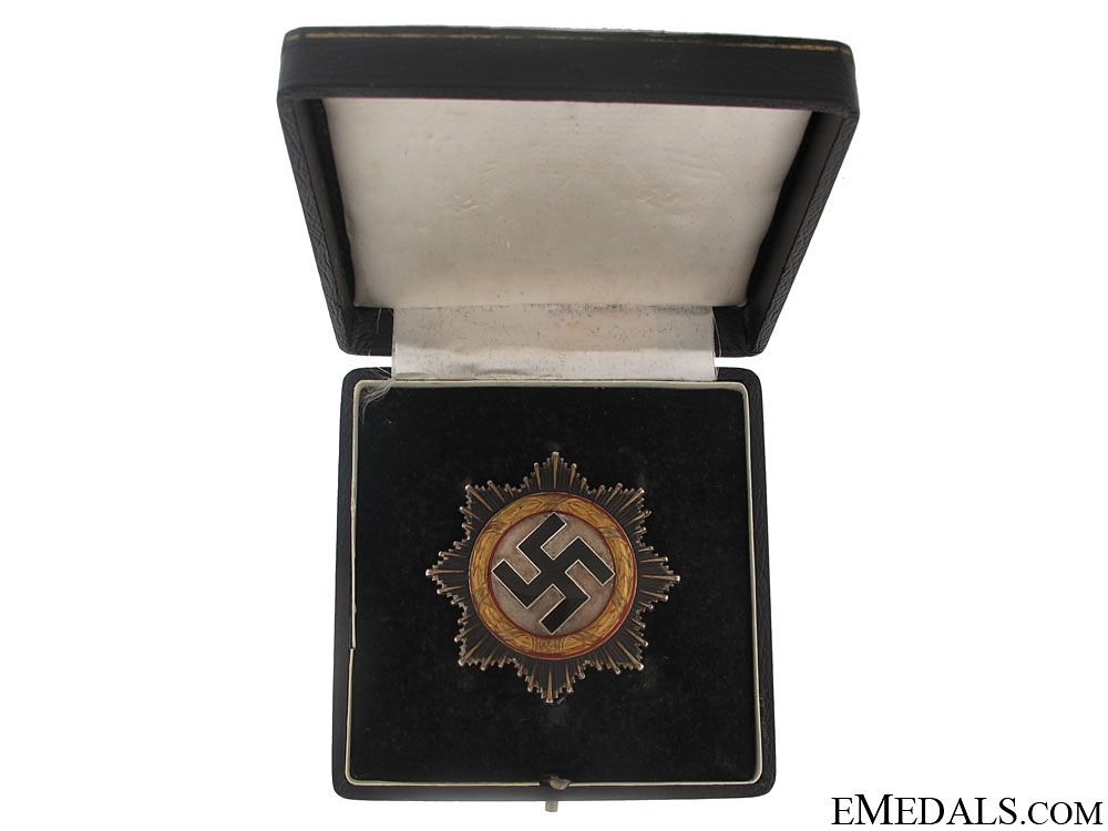 "eMedals-German Cross in ""Gold"" – Cased"