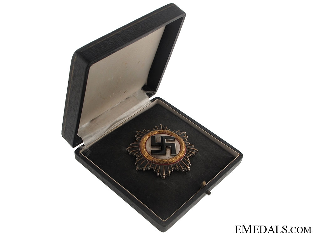 "eMedals-German Cross in""Gold"" – Cased"