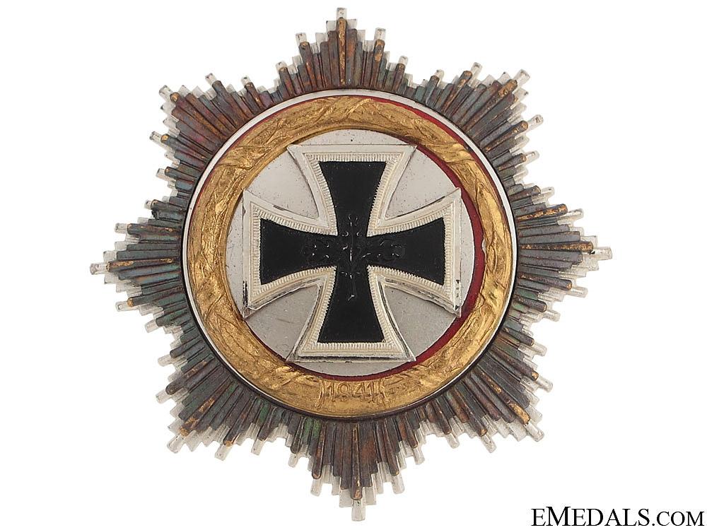 eMedals-German Cross in Gold - 1957 Version