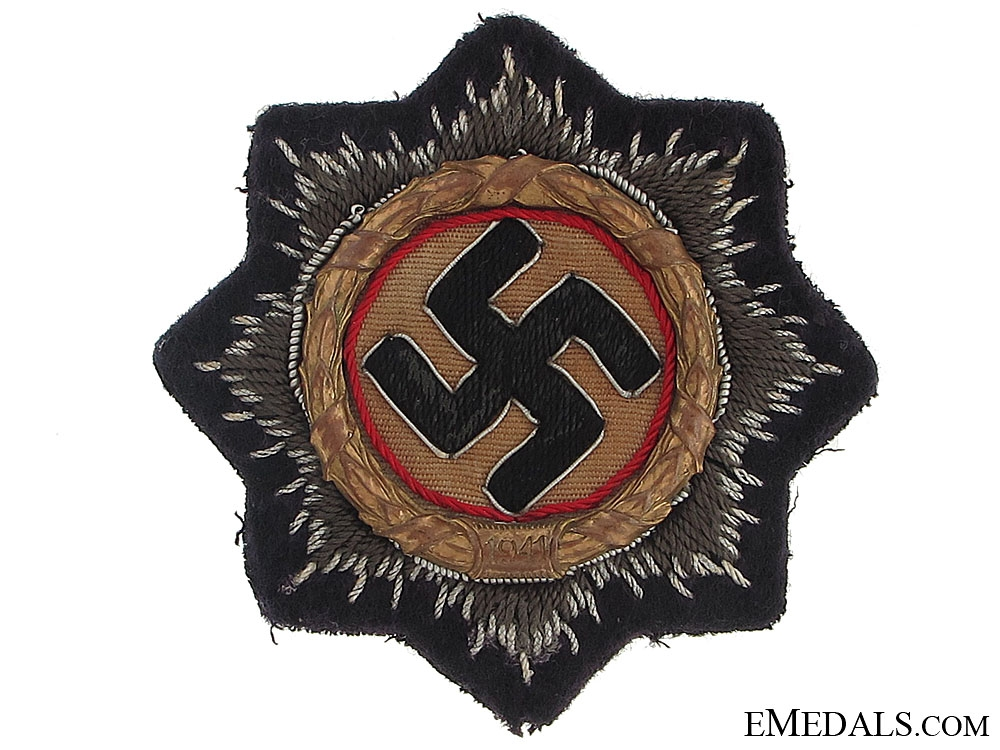 eMedals-German Cross in Gold – Naval