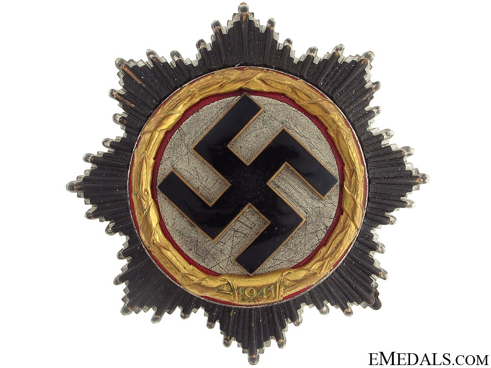 "eMedals-German Cross in ""gold"" by Deschler"