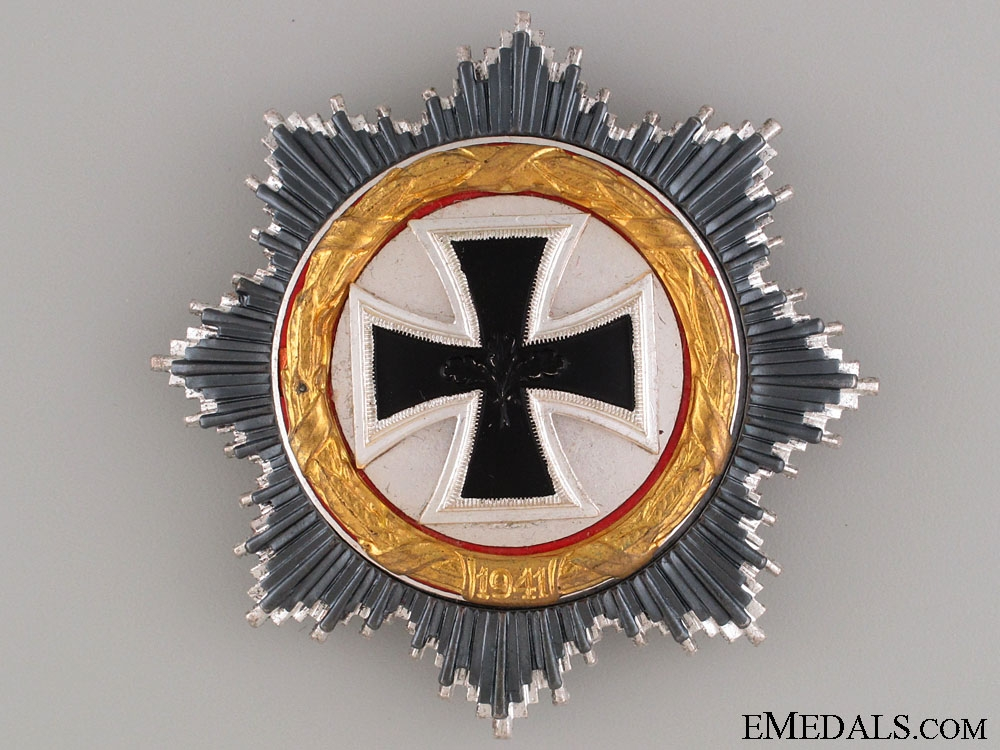 eMedals-German Cross in Gold - 1957 Version