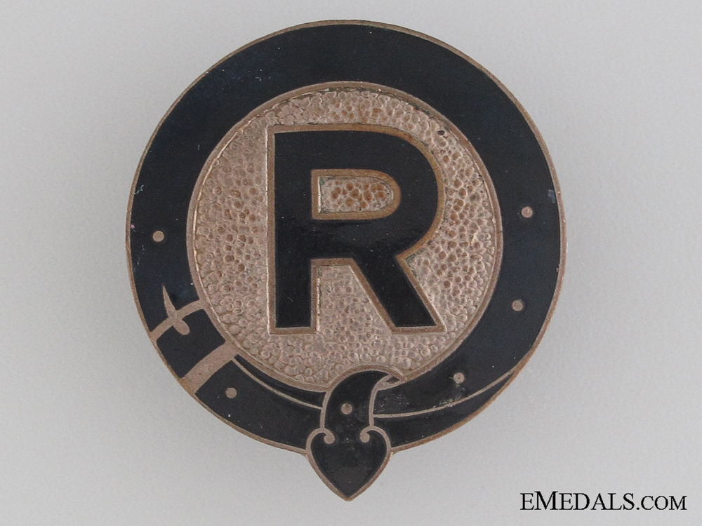 eMedals-German Horse Breeding Association Badge