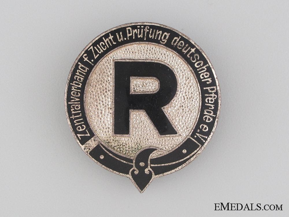 eMedals-German Horse Breeding Association Badge