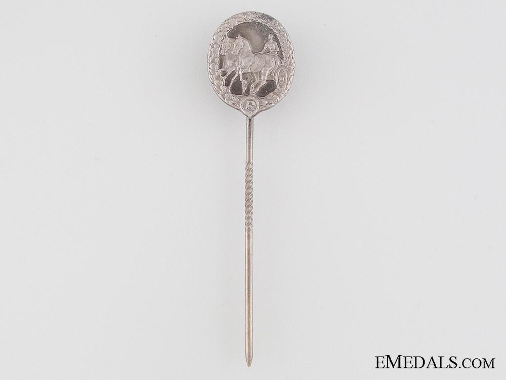 eMedals-German Horse Driver's Badge Stickpin