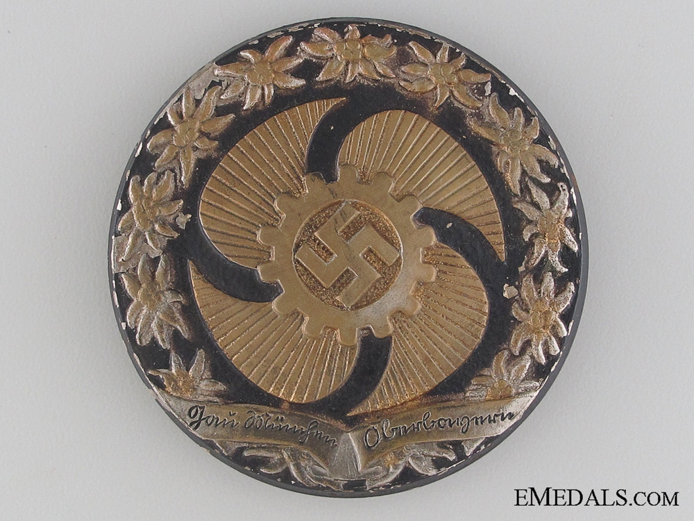eMedals-German Labour Front DAF Tinnie