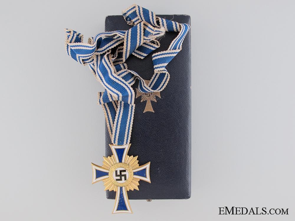 eMedals-German Mother's Cross; Gold Grade