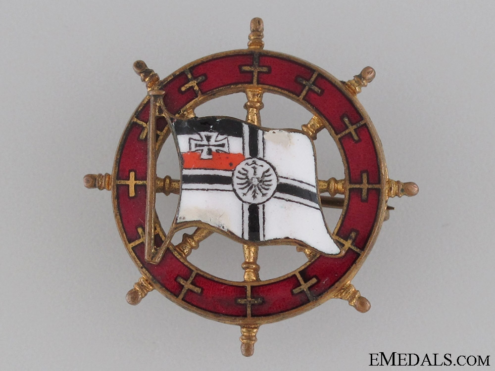 eMedals-German Naval Association Badge
