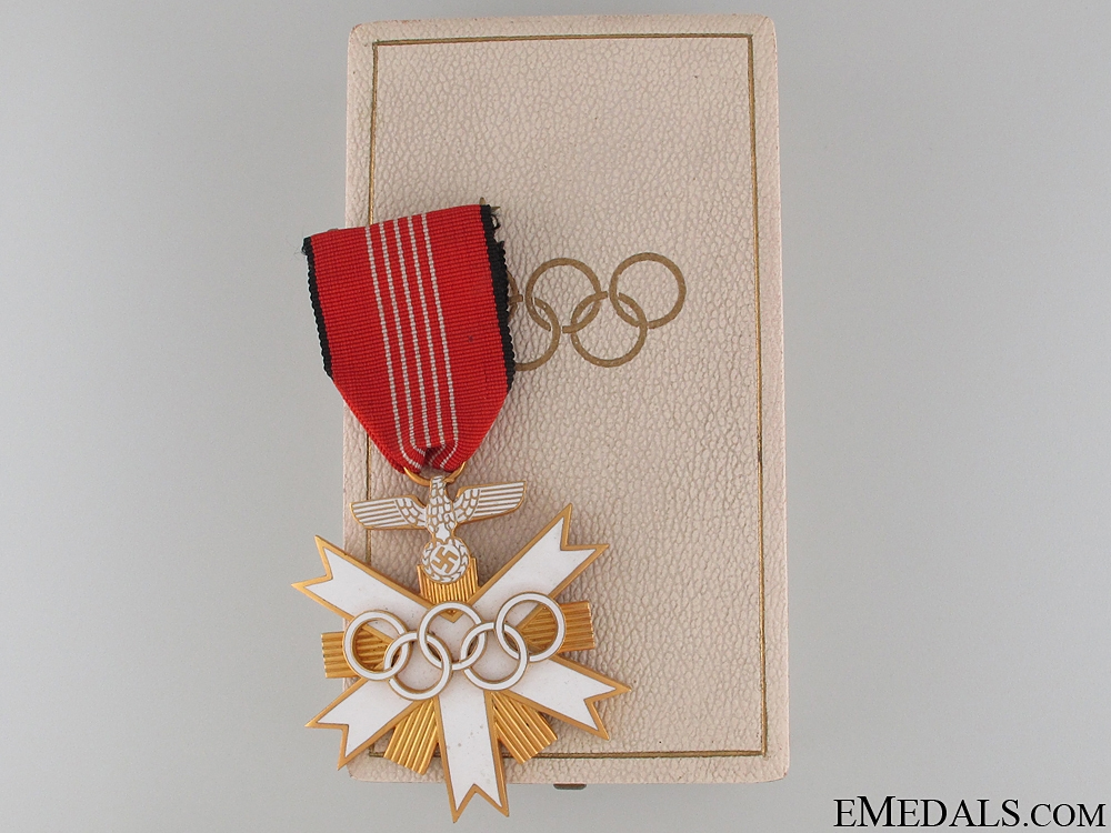 eMedals-German Olympic Merit Cross - 2nd Class