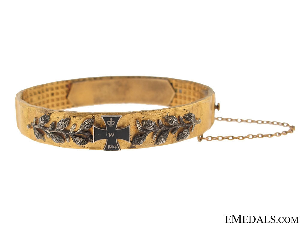 eMedals-German Patriotic Bangle 1914