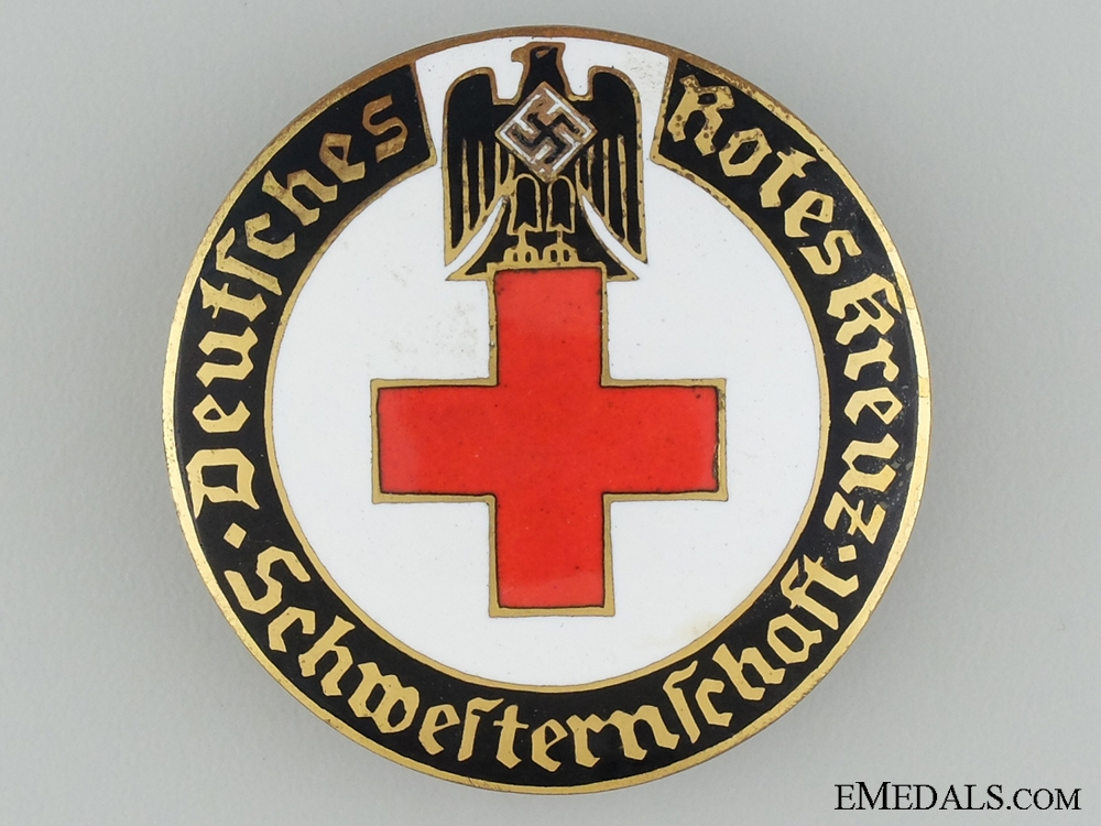 eMedals-German Red Cross Brooch; Schwesternschaft 2nd Type