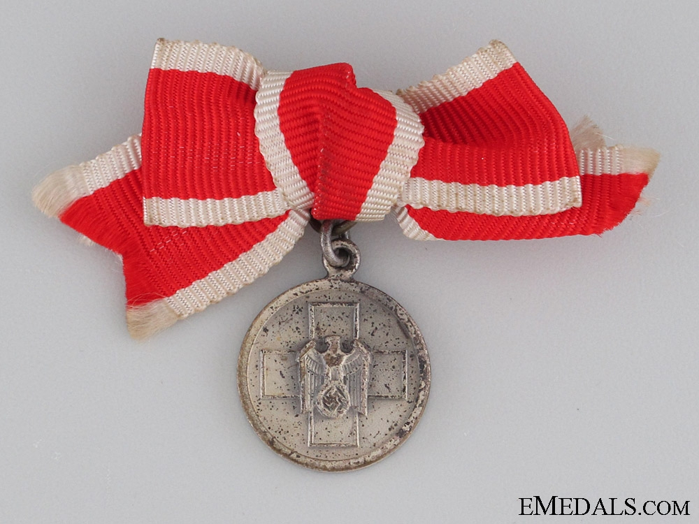 eMedals-German Social Welfare Medal, Women's Miniature